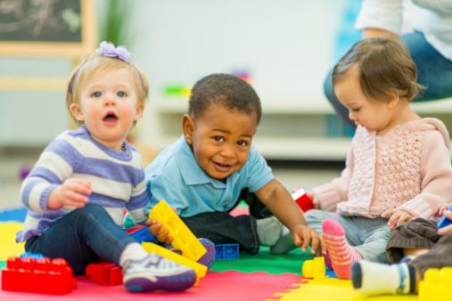 Babies Playing 483798205