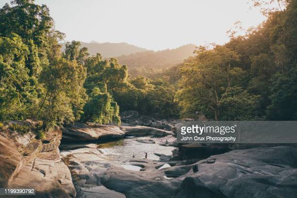babinda boulders - landscape scenery stock pictures, royalty-free photos & images