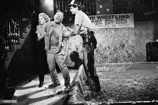 BLUES BaBing BaBing Episode 2 Pictured Betty Thomas as Officer Lucille 'Lucy' Bates unknown Ed Marinaro as Officer Joe Coffey