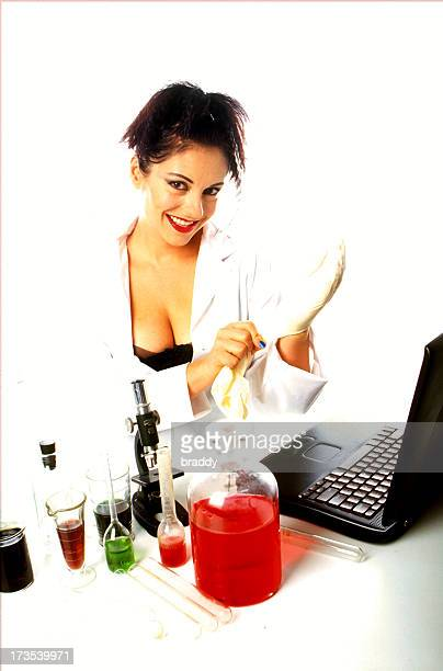 babs 001 - naughty nurse images stock photos and pictures