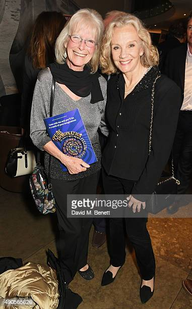 Babs Powell and Hayley Mills attend the press night of Pure Imagination The Songs of Leslie Bricusse at the St James Theatre on September 29 2015 in...