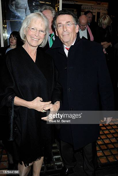 Babs Powell and Robert Powell attend an after party following the Press Night performance of 'The Lion In Winter' at The Institute of Directors on...