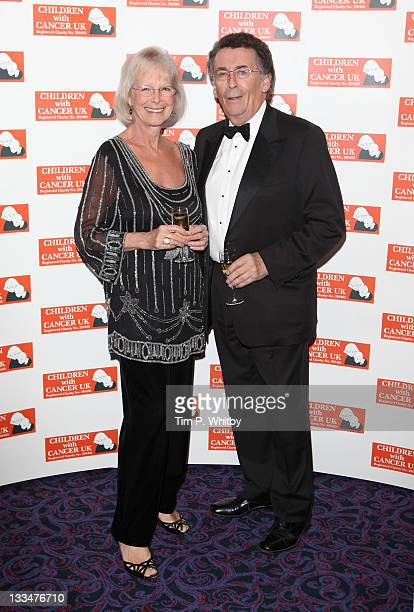 Babs Powell and Robert Powell attend the Children with Cancer Ball at The Grosvenor House Hotel on November 19 2011 in London England