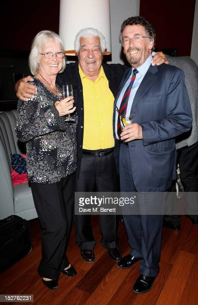 Babs Powell Antonio Carluccio and Robert Powell attend as chef Antonio Carluccio hosts a party to celebrate the release of his memoir 'A Recipe For...