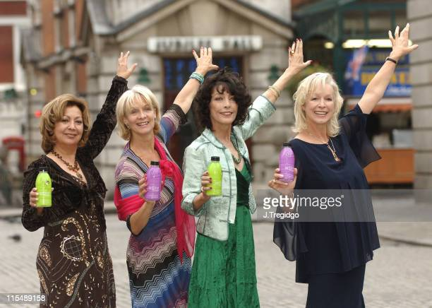 Babs Powell Ruth Pearson Dee Dee Wilde and Louise Clarke from Pan's People