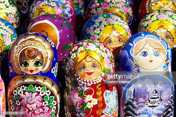 Babuschka wooden traditional dolls