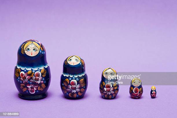 babushka dolls - comparison stock pictures, royalty-free photos & images