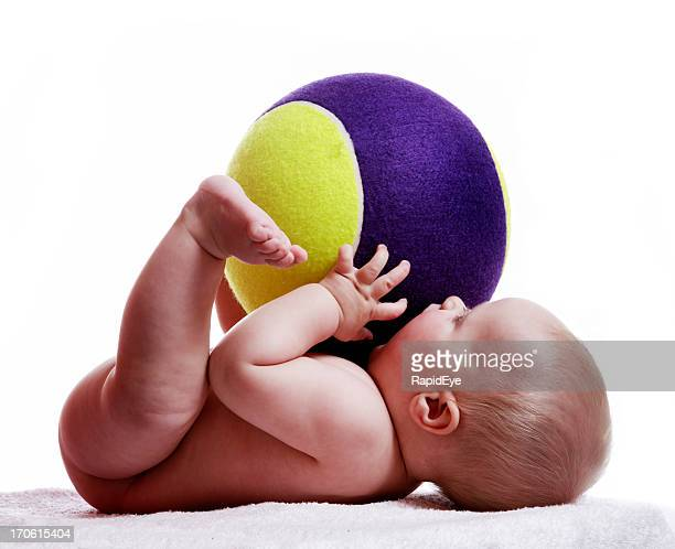 Baby and ball