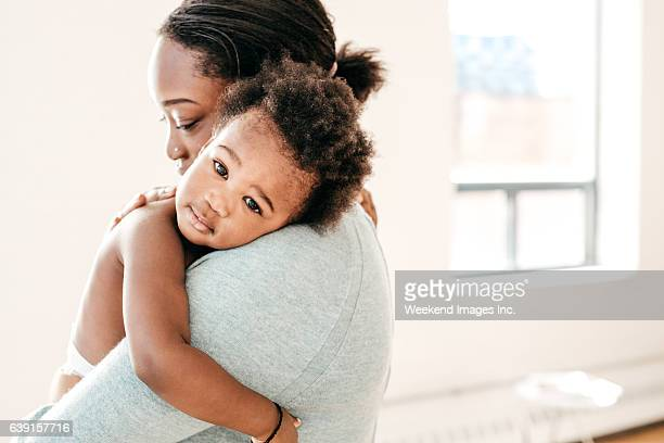 baby and mom - toddler stock pictures, royalty-free photos & images