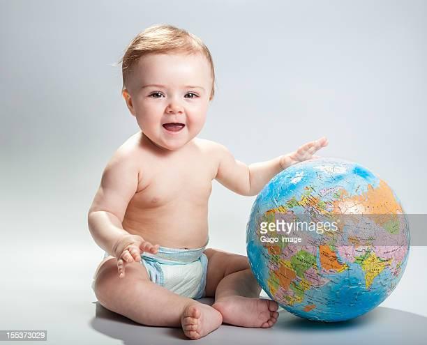 Bébé et planet Earth