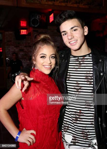 Baby Ariel and guest attend the VMA after party hosted by Republic Records and Cadillac at TAO restaurant at the Dream Hotel on August 27 2017 in Los...