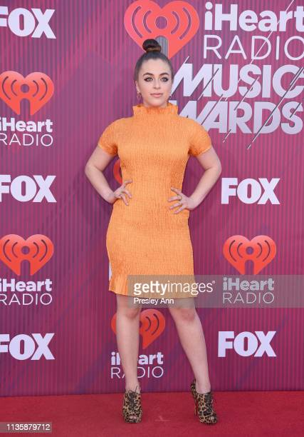 Baby Ariel attends the 2019 iHeartRadio Music Awards which broadcasted live on FOX at Microsoft Theater on March 14 2019 in Los Angeles California