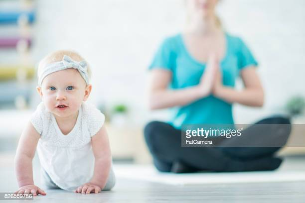 Baby at Yoga Class
