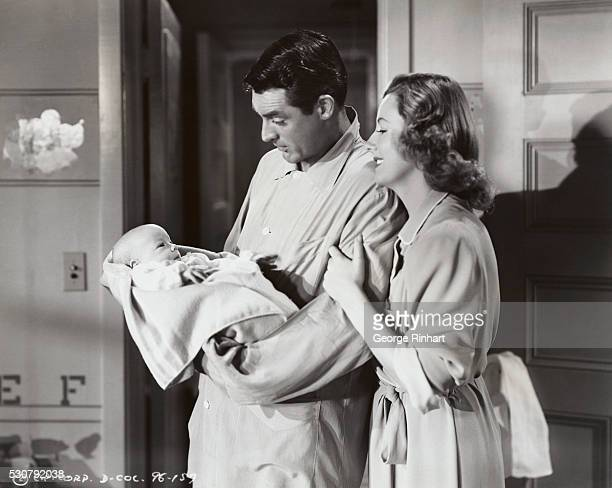 Baby Biffle Cary Grant and Irene Dunne in Columbia's Penny Serenade Please credit Columbia Pictures