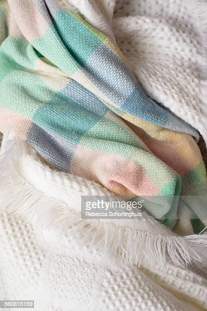 Baby blankets intertwined