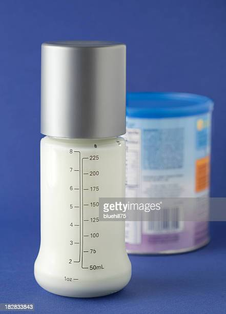 baby bottle with formula