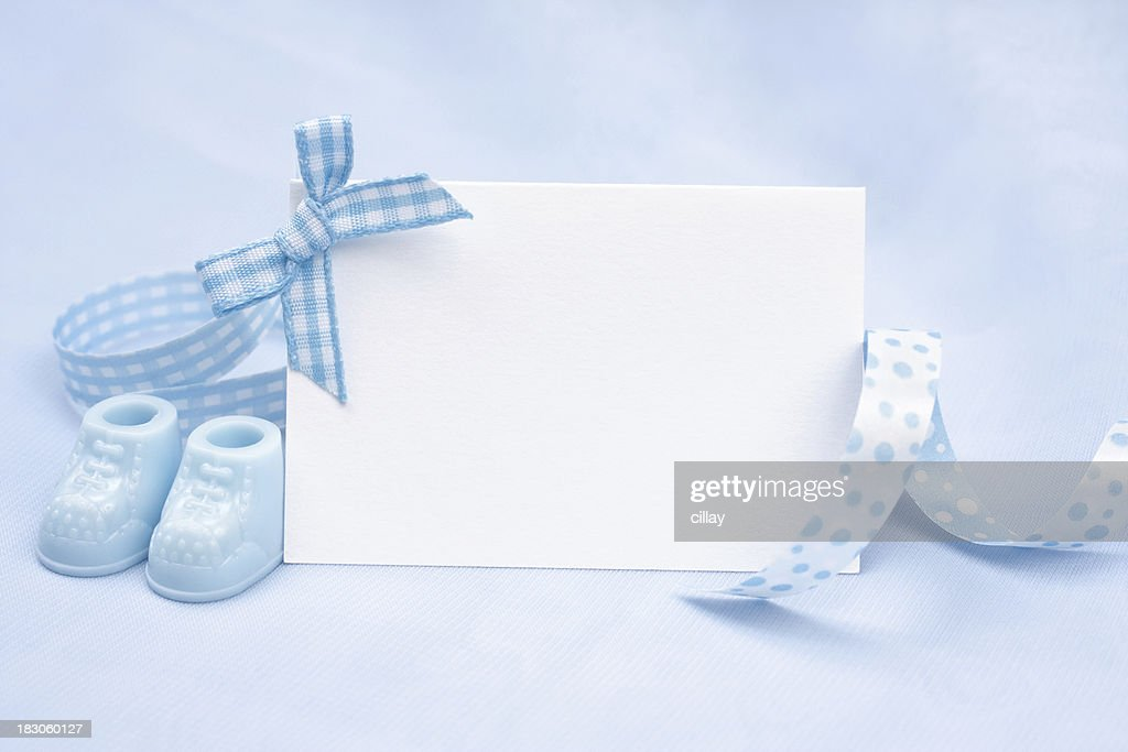 Baby Boy Announcement Stock Photo Getty Images - Boy announcement