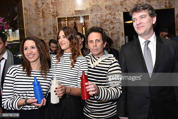 Baby Brand 2016 awarded Claire Abitbol Clara Rohmer from Rare Gerald Cohen from Baby Brand and Arnaud Montebourg attend the 'Baby Brand' Awards 2016...