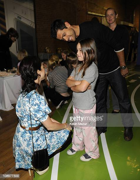 Baby Buggy Board of Directors member Jessica Seinfeld actor Mark Consuelos daughter Lola Grace attend Jessica Seinfeld's 2nd annual Baby Buggy...