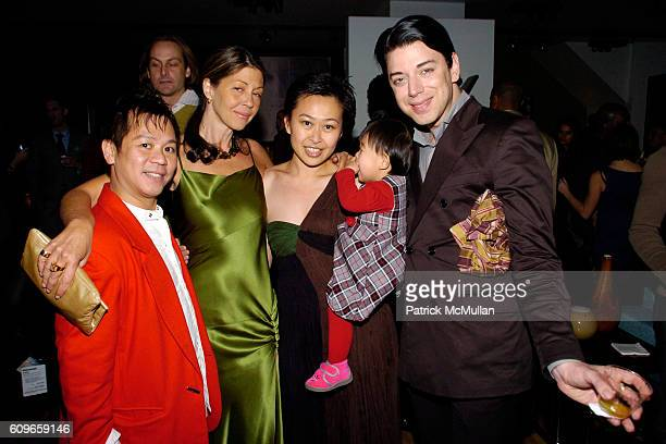 Baby Chic Sally Randall Brunger Nikki Cheng Cienna Cheng and Malan Breton attend KolDesign/BoConcept 5th Annual Holiday Party at BoConcept on...
