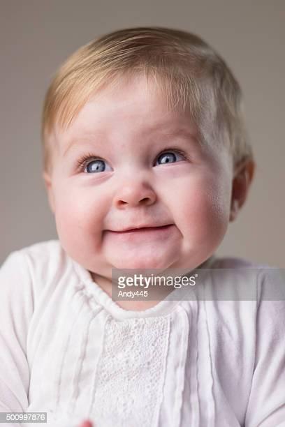 Gros plan de bébé