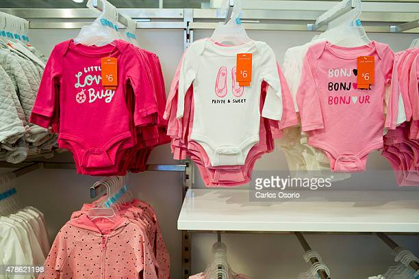 TORONTO ON JUNE 24 Baby clothes at the Real Canadian Superstore located at 3050 Argentina Road in Mississauga Loblaws is tinkering with the idea of...