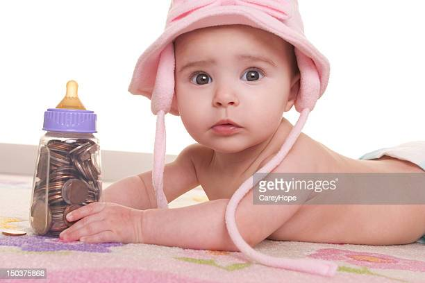 baby costs concept
