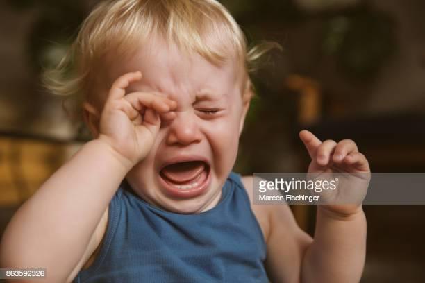 Baby crying at home