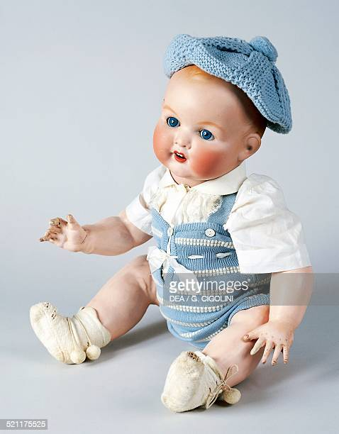 Baby doll No 518/9k with bisque head made by Armand Marseille ca 1930 Germany 20th century Germany