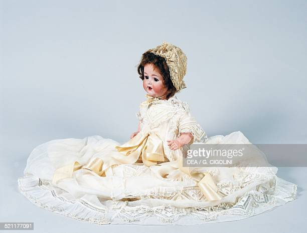 Baby doll No 996 with long dress bisque head doll made by Armand Marseille 1930 Germany 20th century Germany