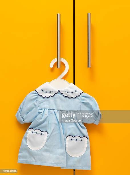 baby dress - hanging stock pictures, royalty-free photos & images
