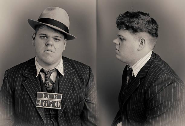 Baby Face Wanted Mugshot
