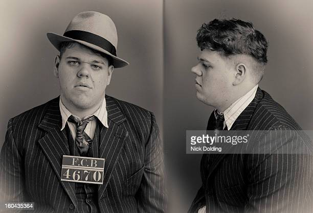 baby face wanted mugshot - police mugshot stock pictures, royalty-free photos & images