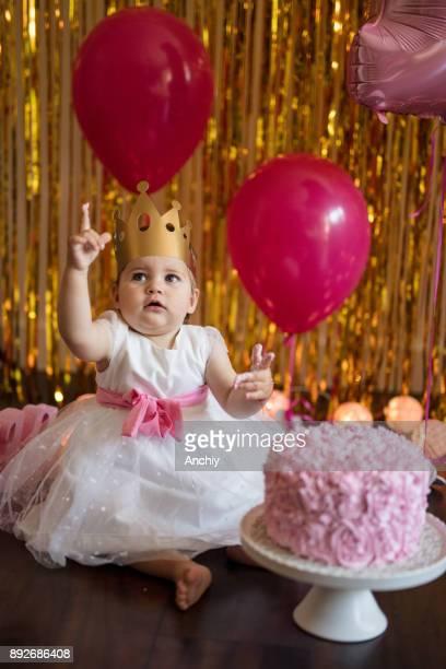 Baby first birthday