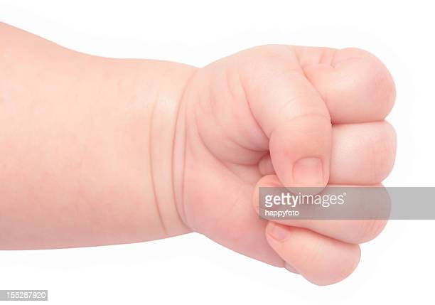 baby fist - fist stock pictures, royalty-free photos & images