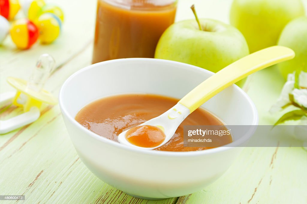 Baby food : Stock Photo