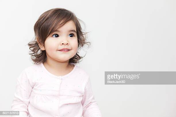baby girl - baby girls stock pictures, royalty-free photos & images