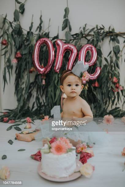 Strange 1 Year Old Birthday Cakes Stock Pictures Royalty Free Photos Funny Birthday Cards Online Alyptdamsfinfo