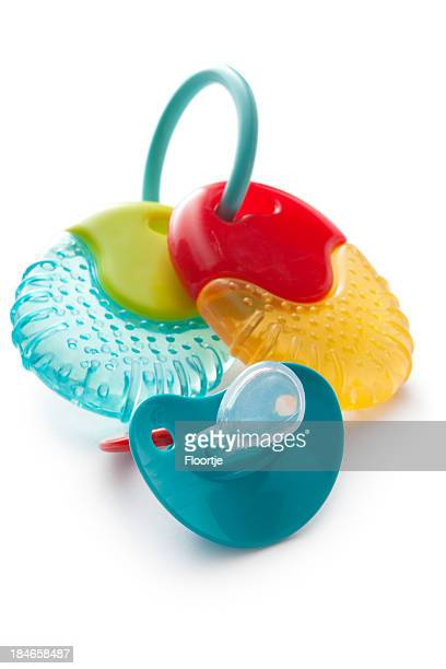 Baby Goods: Teething Ring and Pacifier