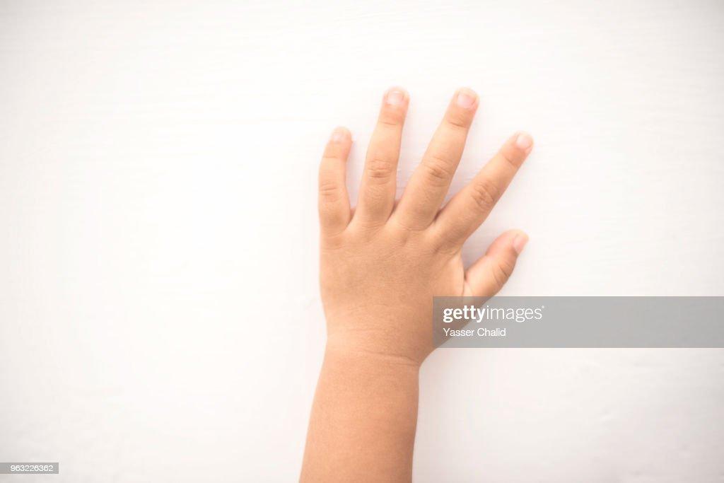 Baby hand : Stock Photo