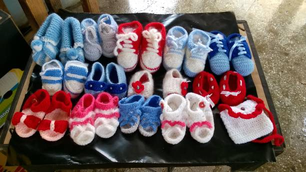 Baby handmade shoes