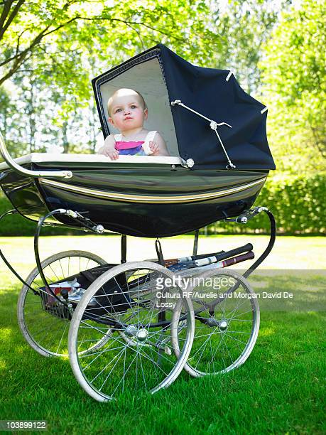 Old Fashioned Baby Stroller Stock Photos And Pictures