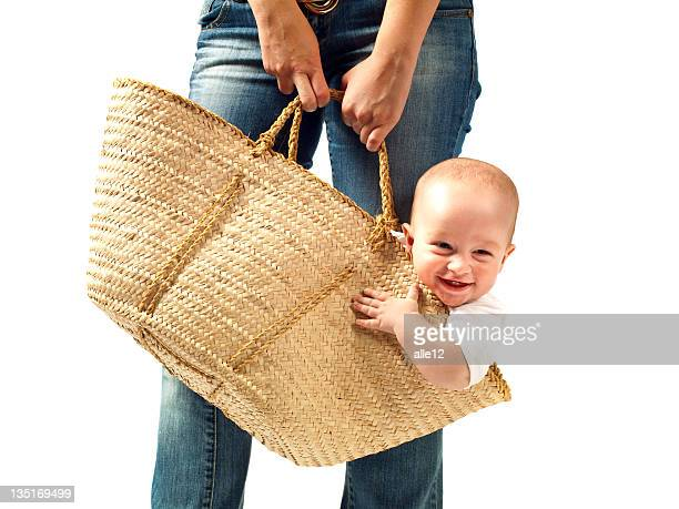 Baby in the bag