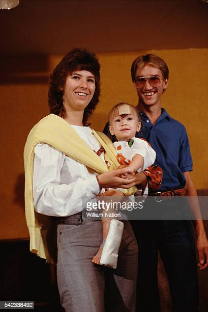 Baby Jessica McClure becomes famous at the age of 18 months after falling into a well in Midland Texas on October 14 1987 Rescuers worked for 58...