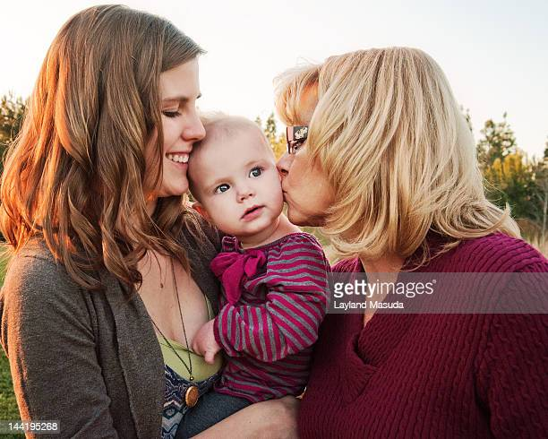 Baby Love With 3 Generations