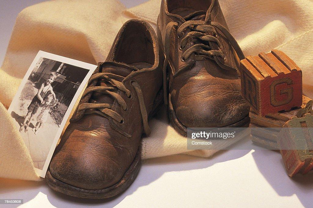 Baby memorabilia : Stockfoto