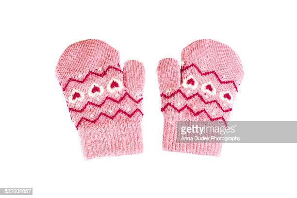 baby mittens - mitten stock photos and pictures