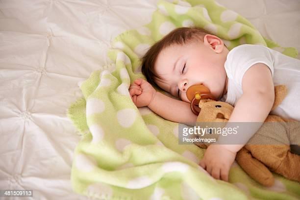 Baby needs his sleep!