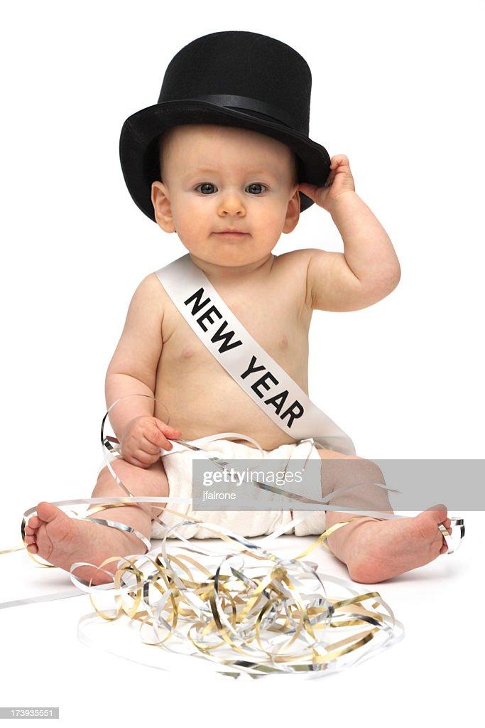 Baby New Year : Stock Photo