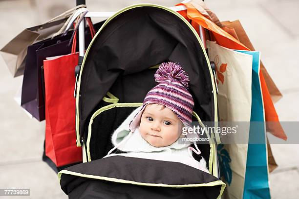 Baby on Shopping Trip